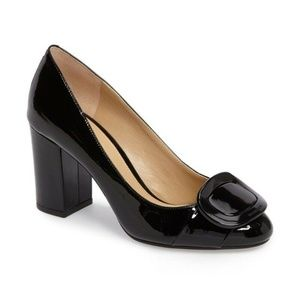 Michael Kors Pauline Black Block heel Pumps